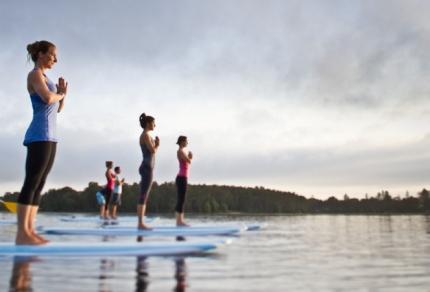 Lake Lanier SUP Yoga