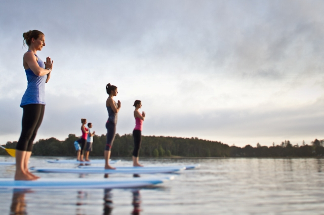 Lake Lanier SUP Yoga